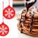 Amandelpannenkoeken bij het kerstontbijt